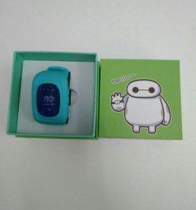 Детские часы с GPS Q50 (голубой)