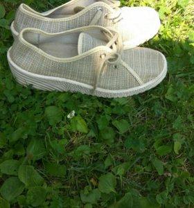 Ботинки тряпочные