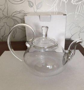 Чайники из жаропрочного стекла