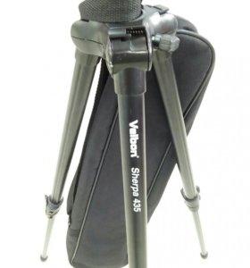 Штатив для фотоаппарата. Velbon sherpa435