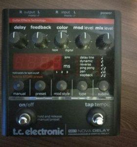 Педаль делея Tc Electronic nova delay nd-1