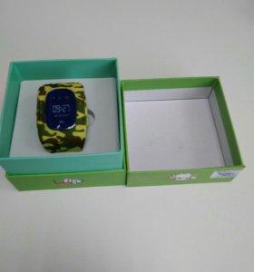 Детские часы с GPS Q50 (камуфляж)