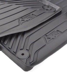 Резиновые коврики Audi (Ауди) A3 8v оригинал