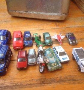 Машинки детские маленькие