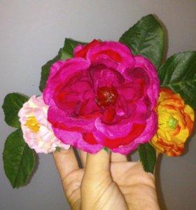 Цветочный ободок