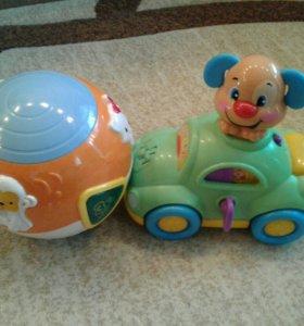 2 игрушки музыкальные обучающие