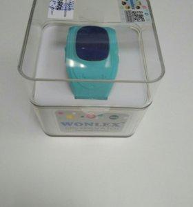 Детские часы с GPS WONLEX Q50 РСТ (голубой)