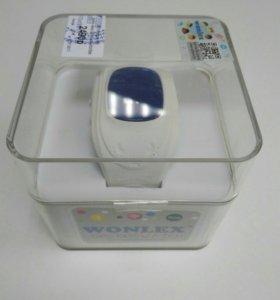 Детские часы с GPS WONLEX Q50 РСТ (белый)