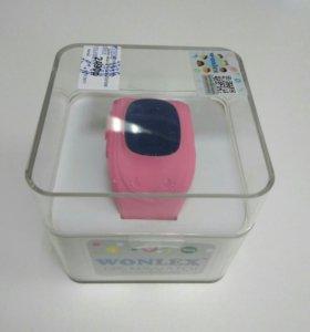 Детские часы с GPS WONLEX Q50 РСТ (розовый)