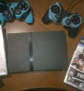 Продаю Sony PlayStation2 slim.СРОЧНО.