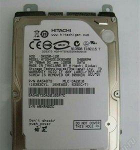 "Винчестер для ноутбука sata 120 гб 2.5"" Hitachi"
