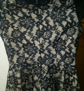 Ажурная гепюровая блузка