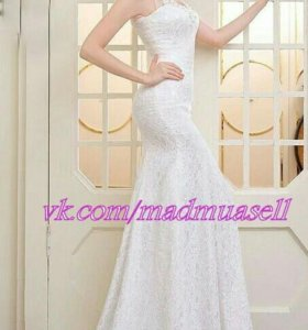 Новое сваднбное платье