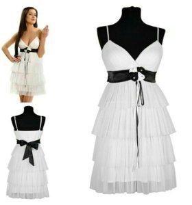 Белое платье р. 42, 44, 46