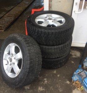 Шины,диски (Toyota)