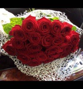 Цветы. Букет роз