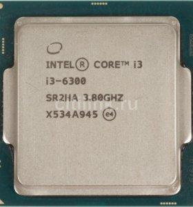 Процессор intel Core i3 6300