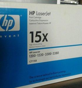 Картридж HP LJ C7115X для HP 1200/1220/3300/3380