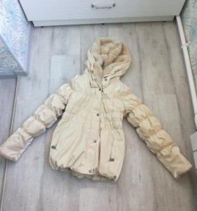 Куртка на девочку 7-10 лет зимняя LENNE