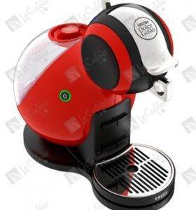 Кофемашина DOLCE-GUSTO MELODY 3 красного цвета