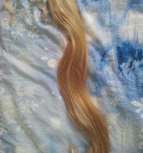 Шиньон-хвост из искусственных волос