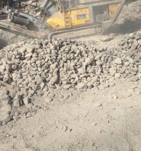 щебень из бетона MP153