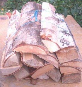 Горбыль береза  , дрова для барбекю и мангала .