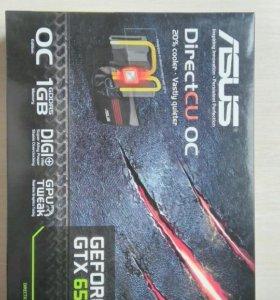 Asus geforce GTX 650 OC