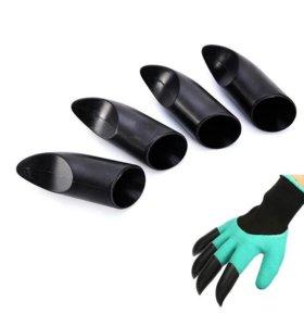 Когти на перчатки для работы в огороде