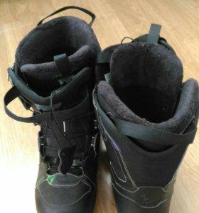 Salomon ботинки для сноуборда