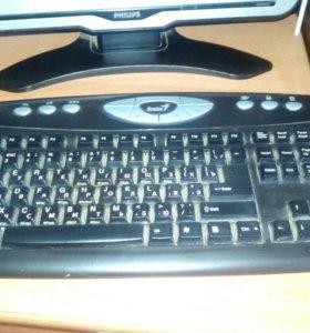 Ж/К монитор с клавиатурой филипс