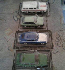 Машинки для коллекции