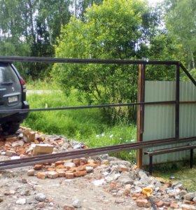 Откатные ворота 4х2метра