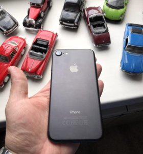 iPhone 7 mat black 128 GB