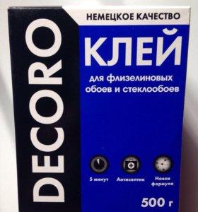 Клей для обоев DECORO