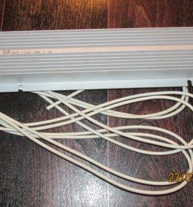 Мощный проволочный резистор в алюминиевом корпусе