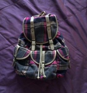 рюкзак клетчатый