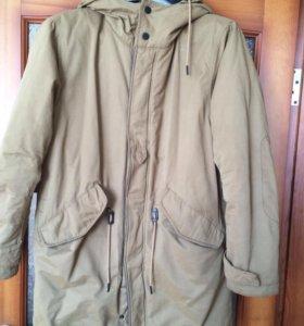 """Продам куртку-парку на 15-16 лет. """"bershka"""""""