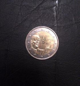 Юбилейные 2 евро, Франция, 2010