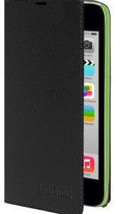 Чехол-книжка для iPhone 5C (черный)