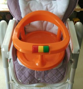 Стульчик-шезлонг для кормления Happy Baby+подарок