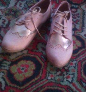 Новые туфли 39-40раз.