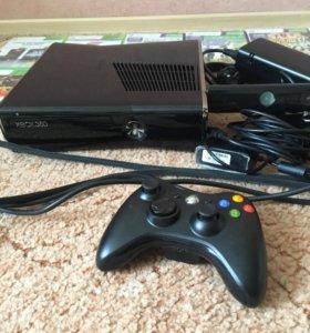 Xbox360 500gb+Kinect+игры