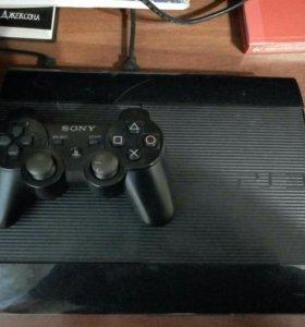 PlayStation3+5игр+джойстик