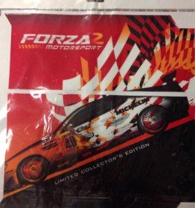 PS4 Наклейка Forza 2 для приставки