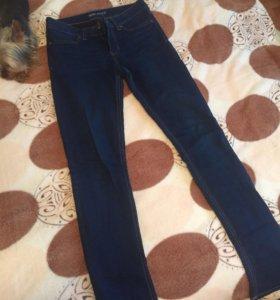 Синие джинсы. (Узкие)