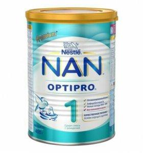 Детская смесь nan 1 optipro