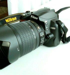 Nikon D3000 + Nikkor 18-105mm f/3,5-5,6G