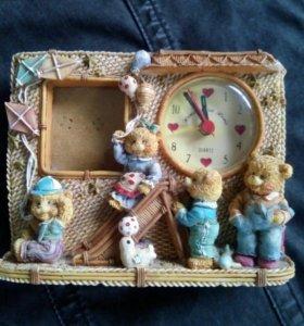 Декоративные часы с фото в детскую
