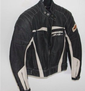 Кожаная мотокуртка 44-46 р-р Lookwell